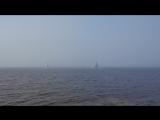 Яхты плывут в туман