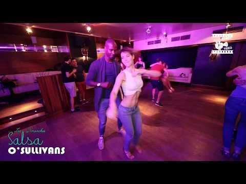 Achile Muriel - social dancing @ Salsa O'sullivans