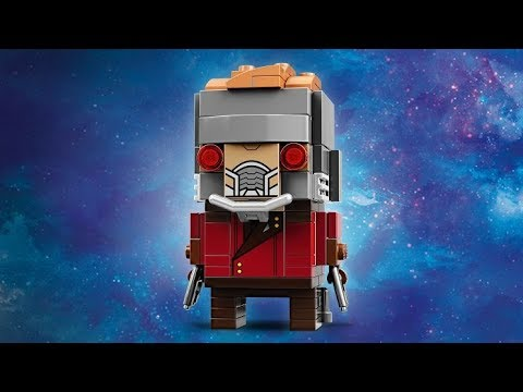 Обзор нового набора Lego Marvel Super Heroes BrickHeadz 41606 Star-Lord