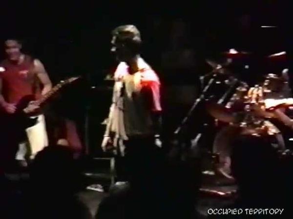 Occupied Territory - Live at CBGB (1988)