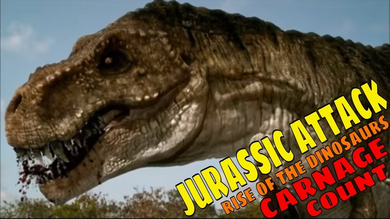 Jurassic Attack AKA Rise of the Dinosaurs (2013) Carnage Count