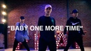 Britney Spears Baby One More Time live Choreography by Kenny Wormald at Playground LA