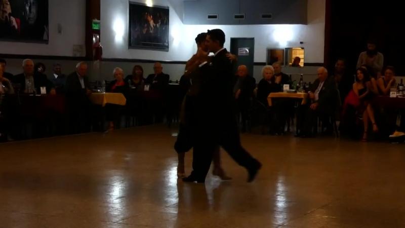Edwin Espinosa y Alexa Yepes en Milonga La Baldosa Bs.As. 2018