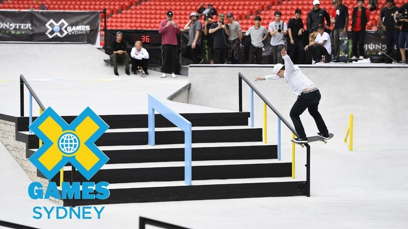 Shane O'neill wins bronze in Men's Skateboard Street | X Games Sydney 2018