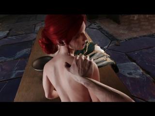 Vk.com/watchgirls rule34 the witcher 3 triss sfm 3d porn