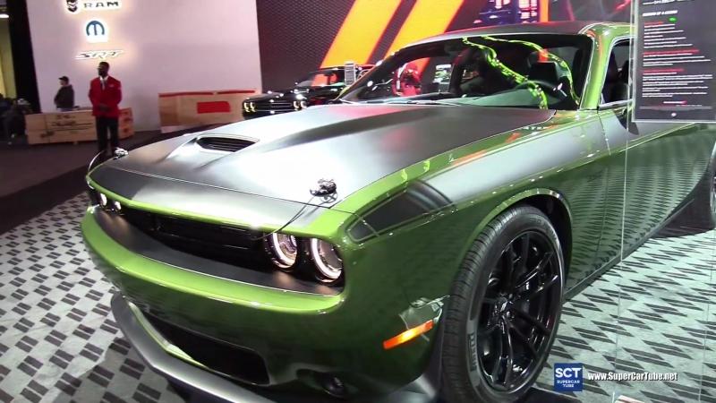 2018 Dodge Challenger T⁄A 392 - 2018 Detroit Auto Show