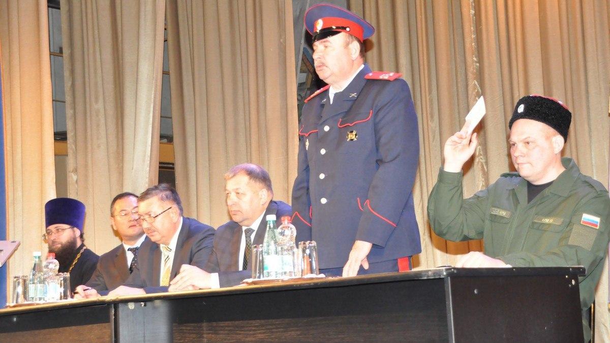 Рязанские казаки объединились в юртовое общество 7CnC9EfIZTQ