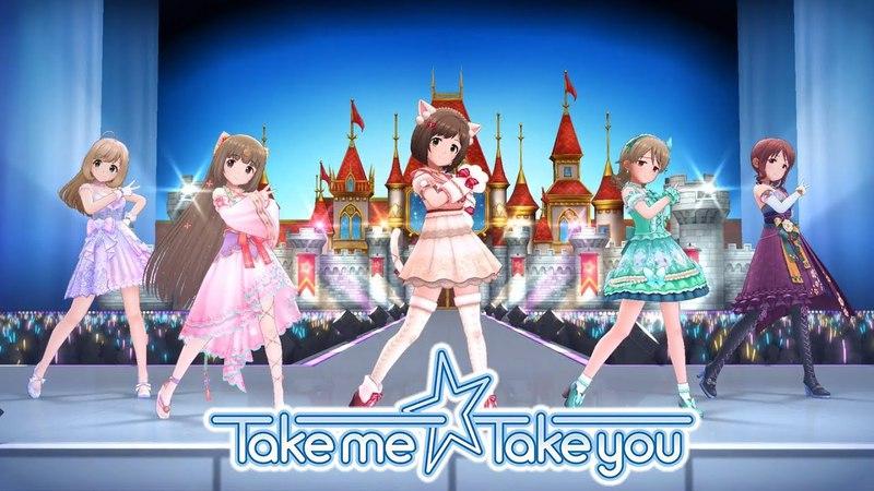 「デレステ」Take me☆Take you (Game ver.) 佐藤心、依田芳乃、前川みく、森久保乃々、三船美優 SSR