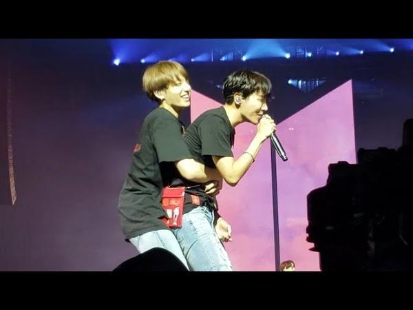 180920 Answer: Love Myself @ BTS 방탄소년단 Love Yourself Tour in Hamilton Fancam 직캠