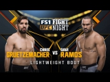 UFC FIGHT NIGHT FRESNO Chris Gruetzemacher vs Davi Ramos