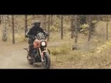 Crazy HD-Enduro _ 320kg heavy Harley Davidson in forest _ 4K