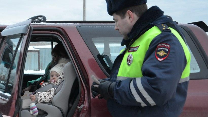 В Зеленчукском и Урупском районах автоинспекция проверит правила перевозки детей