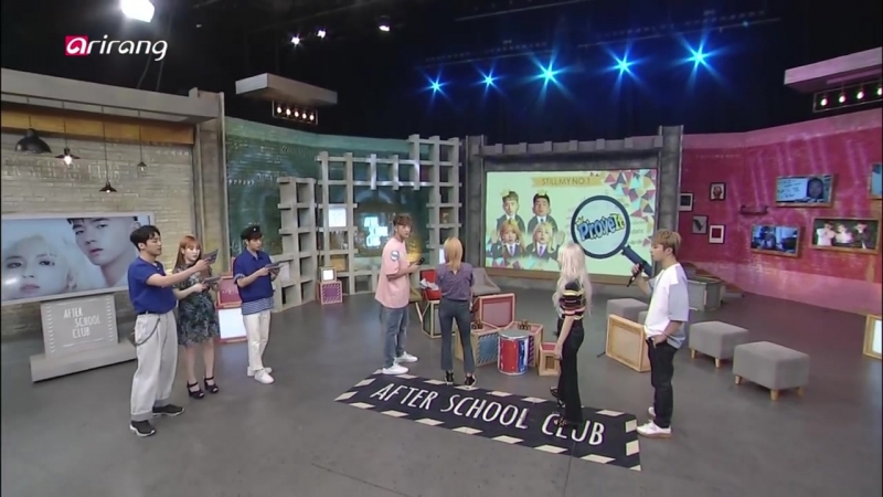[180731] Stray Kids » Seung Min » After School Club » Full 327 Episode with KARD