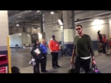 Tom Brady arrives at 832 a.m. ET for todays 1 p.m. ET kickoff.