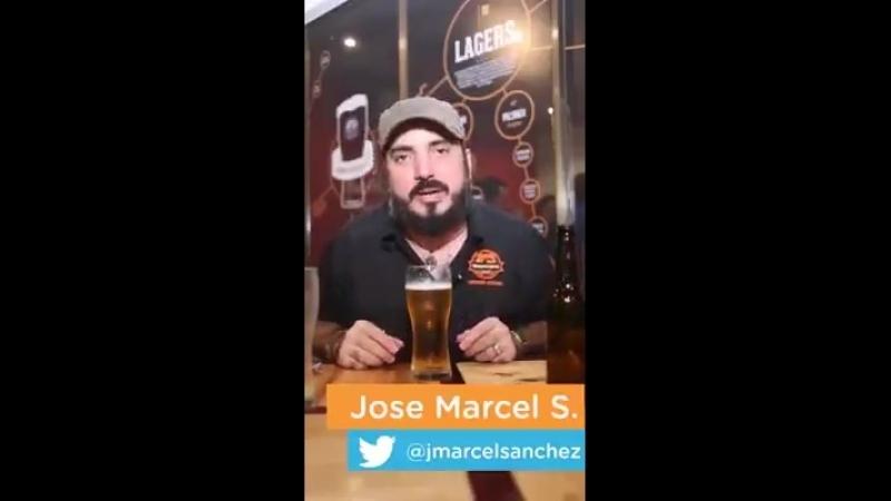 Gabarito de como colocar uma cerveja no copo