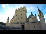 Spain Pais Vasco, Castillo de Butron, Vizcaya Bridge, Alcazar de Segovia