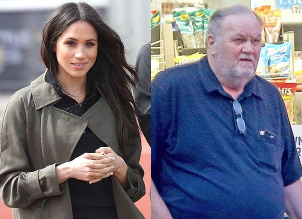 Отец Меган Маркл пропустит свадьбу дочери из-за скандала с фото: комментарий Кенсингтонского дворца