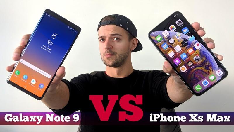 Сравнение Galaxy Note 9 vs iPhone Xs Max ЧТО выбрать