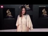 Лана Дель Рей на красной ковровой дорожке церемонии «Grammy»
