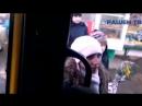 Скандал в маршрутке с пьяной девушкой - YouTube