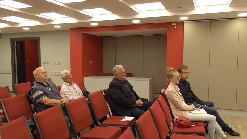 Пресс-конференция КПРФ, посвящённая итогом выборов 9 сентября