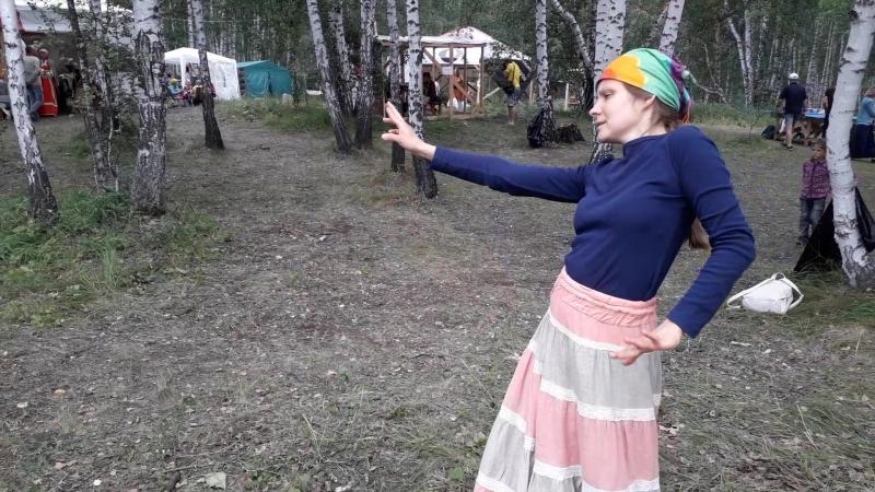 Вести с фестиваля Уральский Хоровод-18, мастера джамбэ прокачивают поляну, 1я часть...