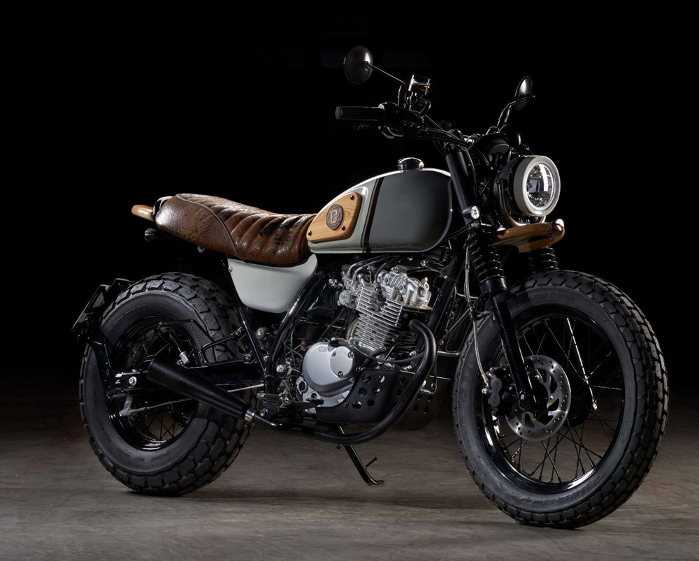 Officine GP Design: скрэмблер Suzuki VanVan