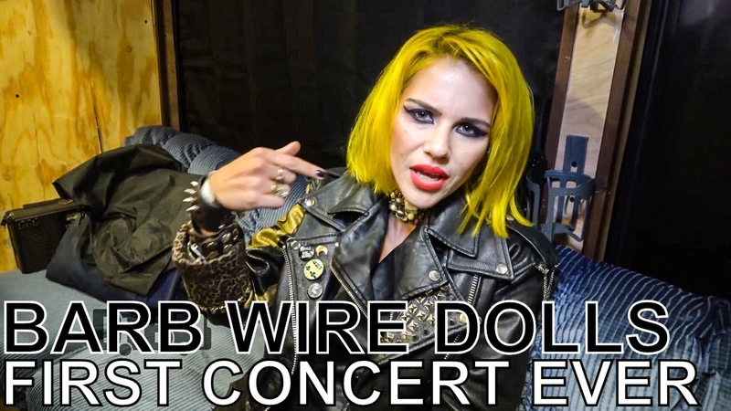Barb Wire Dolls - FIRST CONCERT EVER Ep. 57