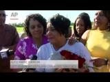 Alice Marie Johnson left a federal prison in Alabama