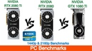 Nvidia RTX 2080 Ti vs RTX 2080 vs GTX 1080 Ti 1440p and 4K Benchmarks