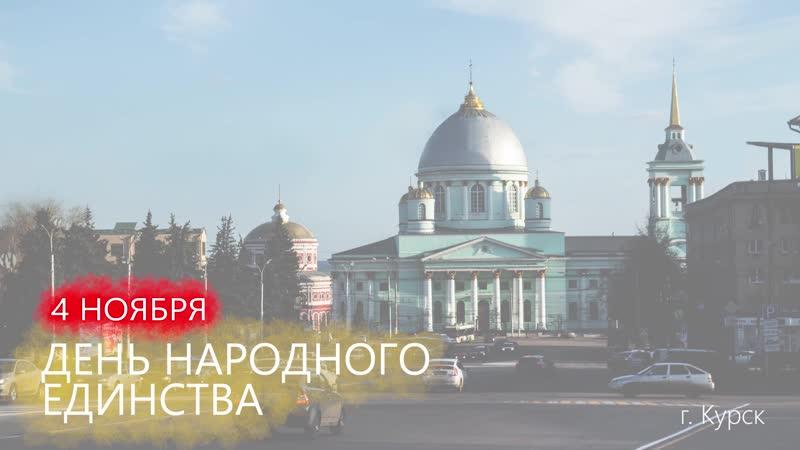 День народного единства. Волонтеры победы Курской области