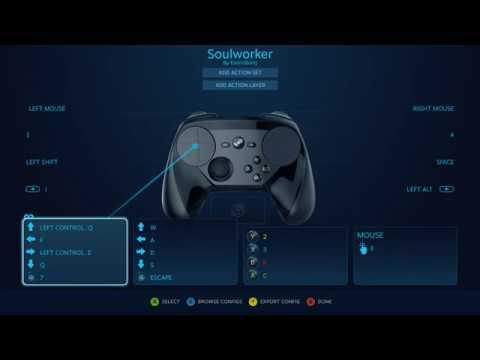 SoulWorker Steam Controller Always Run Config