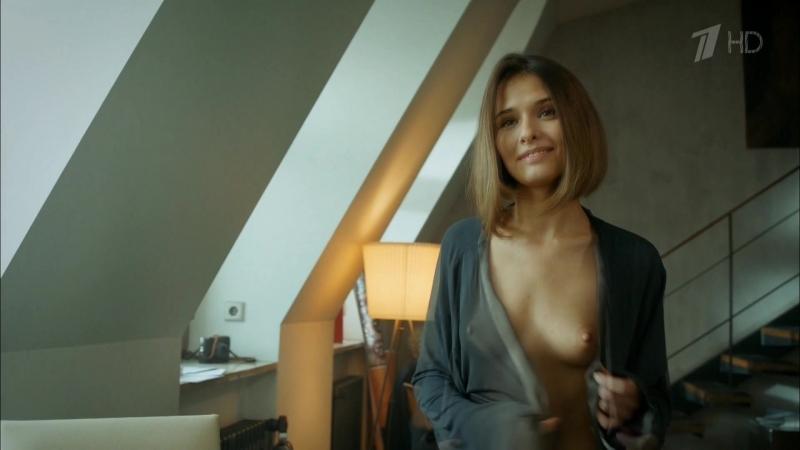 Актриса Любовь Аксёнова показала голую маленькую грудь засветила небольшие сиськи соски в сериале мажор 3 сезон фильм топлесс 18