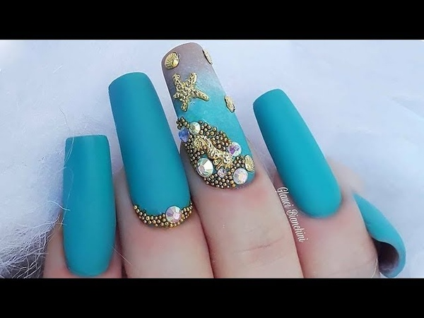New Nail Art Tutorials Compilation 2018 | Beautiful Nail Designs Ideas 421