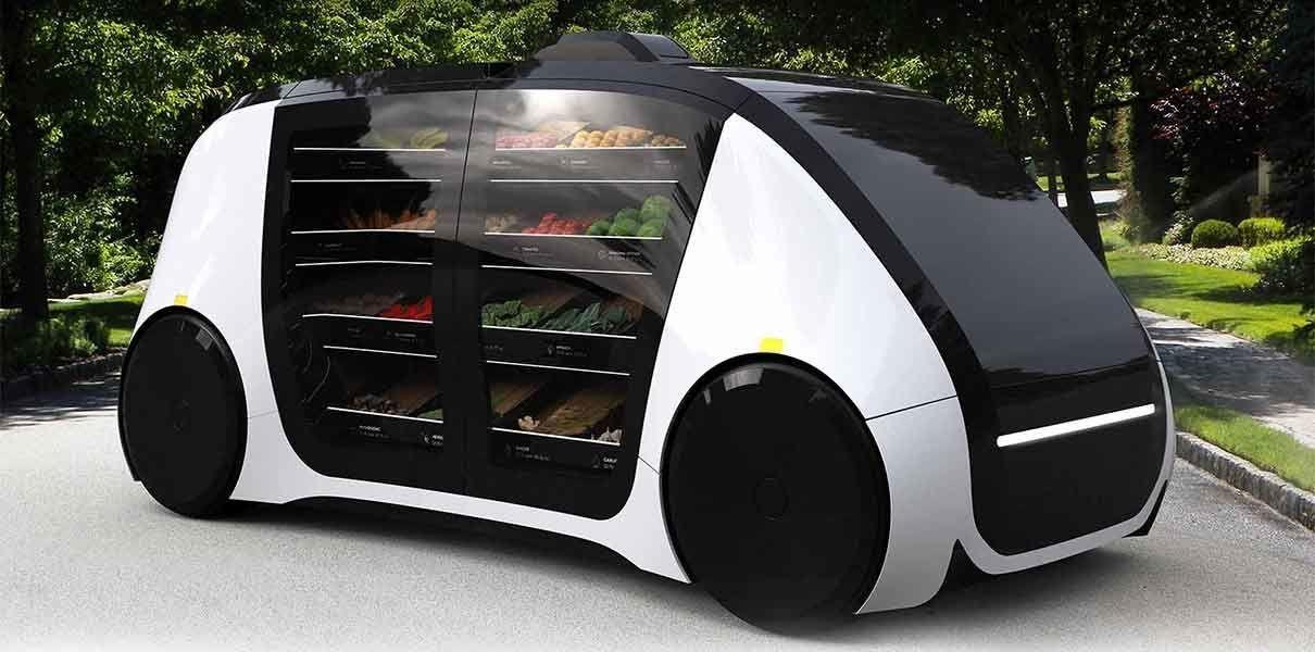 Стартап Robomart запустит беспилотные киоски по продаже фруктов и овощей уже осенью