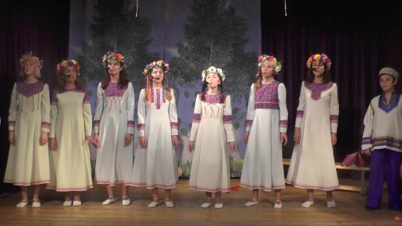 Выпускной спектакль На Завалинке 2018 Дальняя дорога