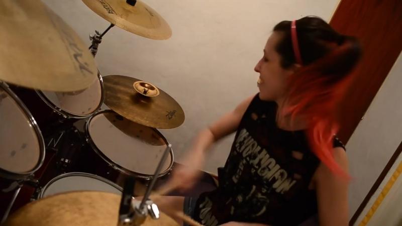 Megadeth Symphony of destruction Drum Cover (by Nea Batera)