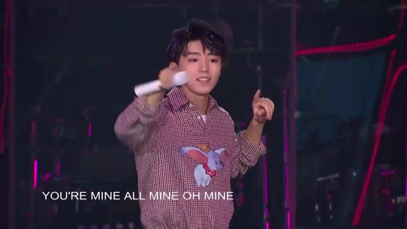 TFBOYS Karry Wang Junkai 《我的》 YOU'RE MINE Wang Junkai's 19th birthday concert 22 09 2018