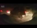 /25.01.18./ Десятки автомобилей собрала накануне пробка по дороге в Завойко ⠀ Огромная автомобильная пробка образовалась в среду