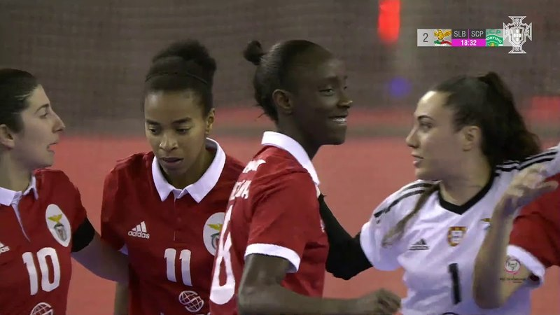 Taça de Portugal de Futsal Feminino SL Benfica 2 - 1 Sporting CP