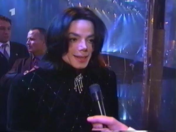 Michael Jackson Bambi Awards 2002 Interview