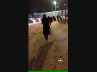 Опасная тропа в Кировском районе