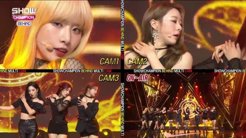 [BTS] 181016 Show Champion behind @ Cosmic Girls