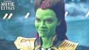 AVENGERS INFINITY WAR Gamora confronts Thanos Deleted Scene Blu-Ray/DVD 2018