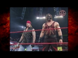 Undertaker  Kane Help Team Extreme from Steve Austin and Triple H 2001