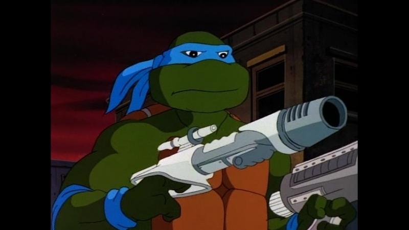 Сезон 10 Серия 06: Гангстер изизмерения Икс | Черепашки мутанты ниндзя (1987-1996) / Teenage Mutant Ninja Turtles
