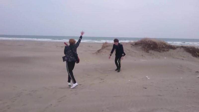 Yosuke Kosuke on the beach