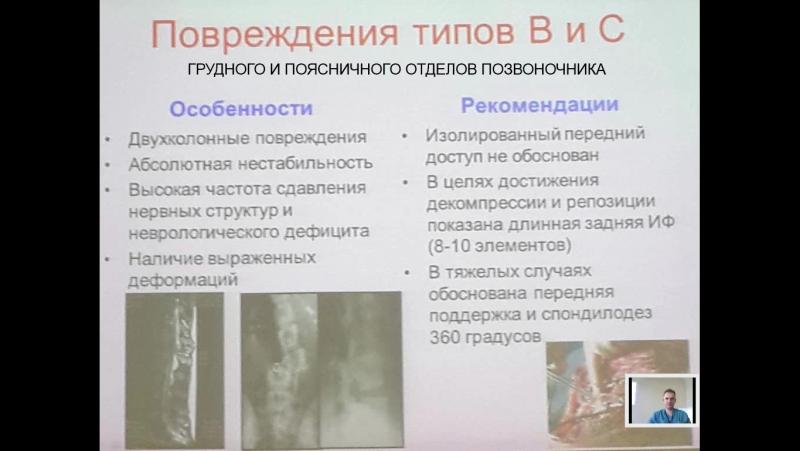 лекция 14 травма позвоночника