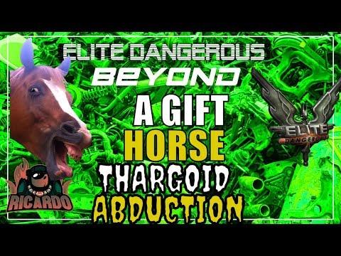 Elite: Dangerous A Gift horse Thargoid Abduction