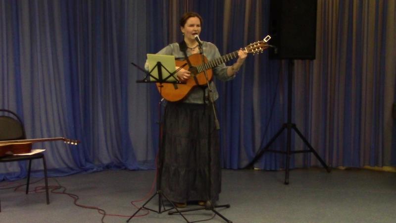 Екатерина Мирвис-Варкалова «Прибереги меня для себя…» (стихи и муз. Е. Мирвис-Варкаловой)